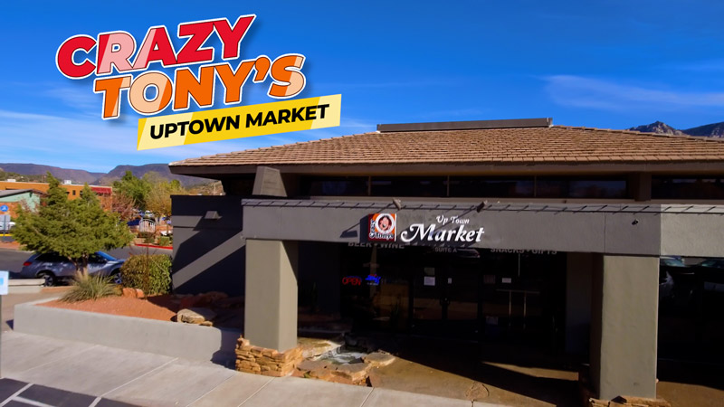 Crazy Tony's Uptown Market in Sedona